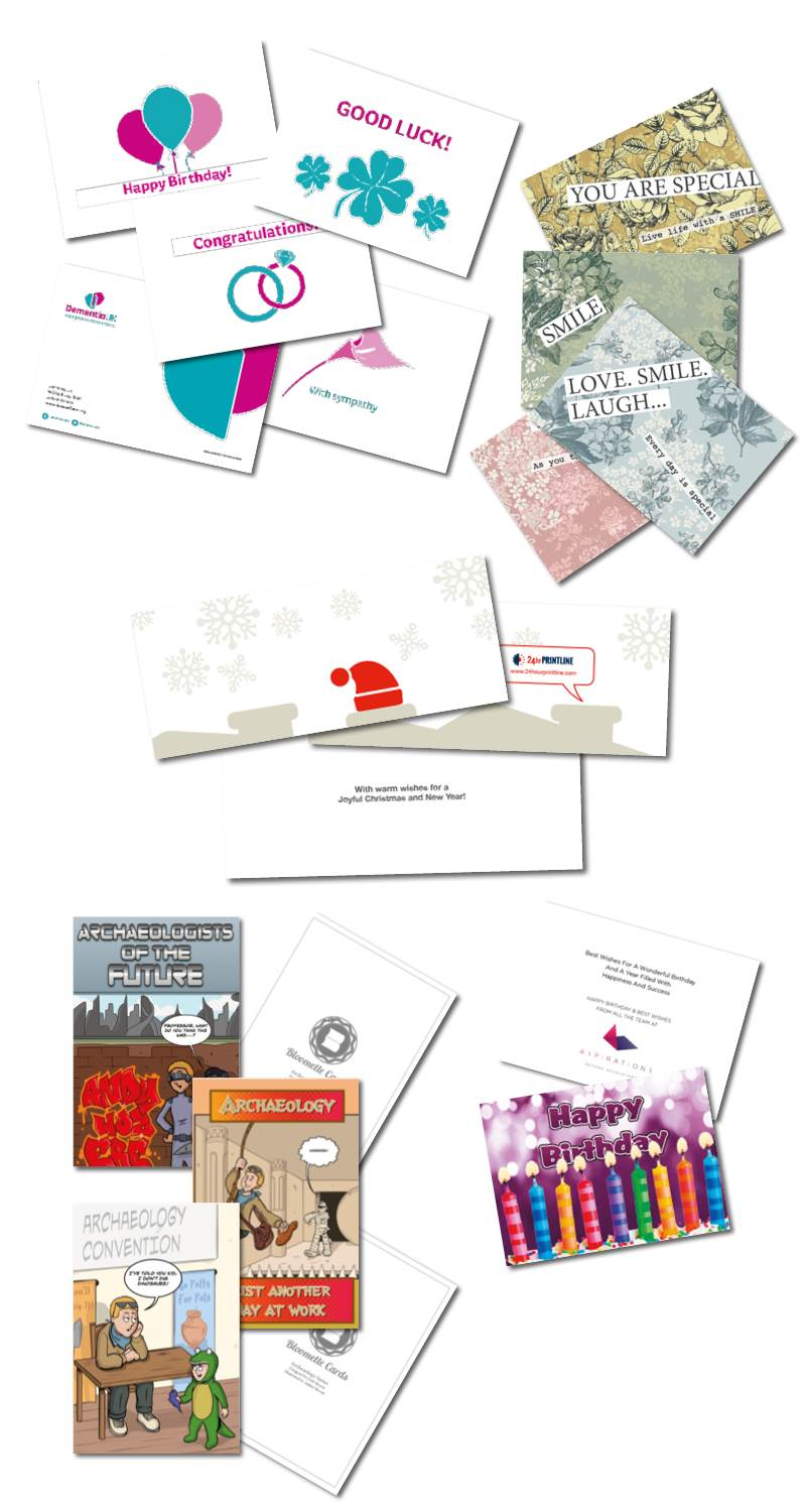 Custom Greetings and Christmas Cards